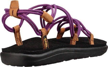 5c1e55675b10 Teva Voya Infinity Strappy Sandal - Tropical Peach Textile 10