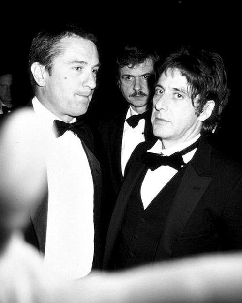 Robert De Niro And Al Pacino With Images Al Pacino