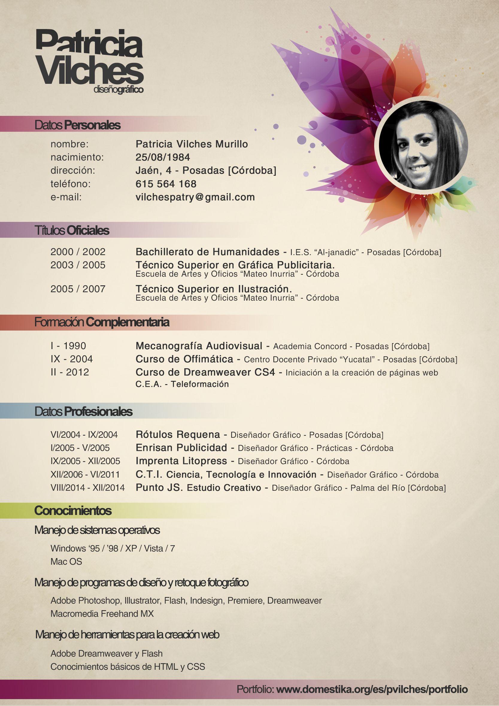 Curriculum Vitae Diseno Cv Resume Resume Design Es Curriculum