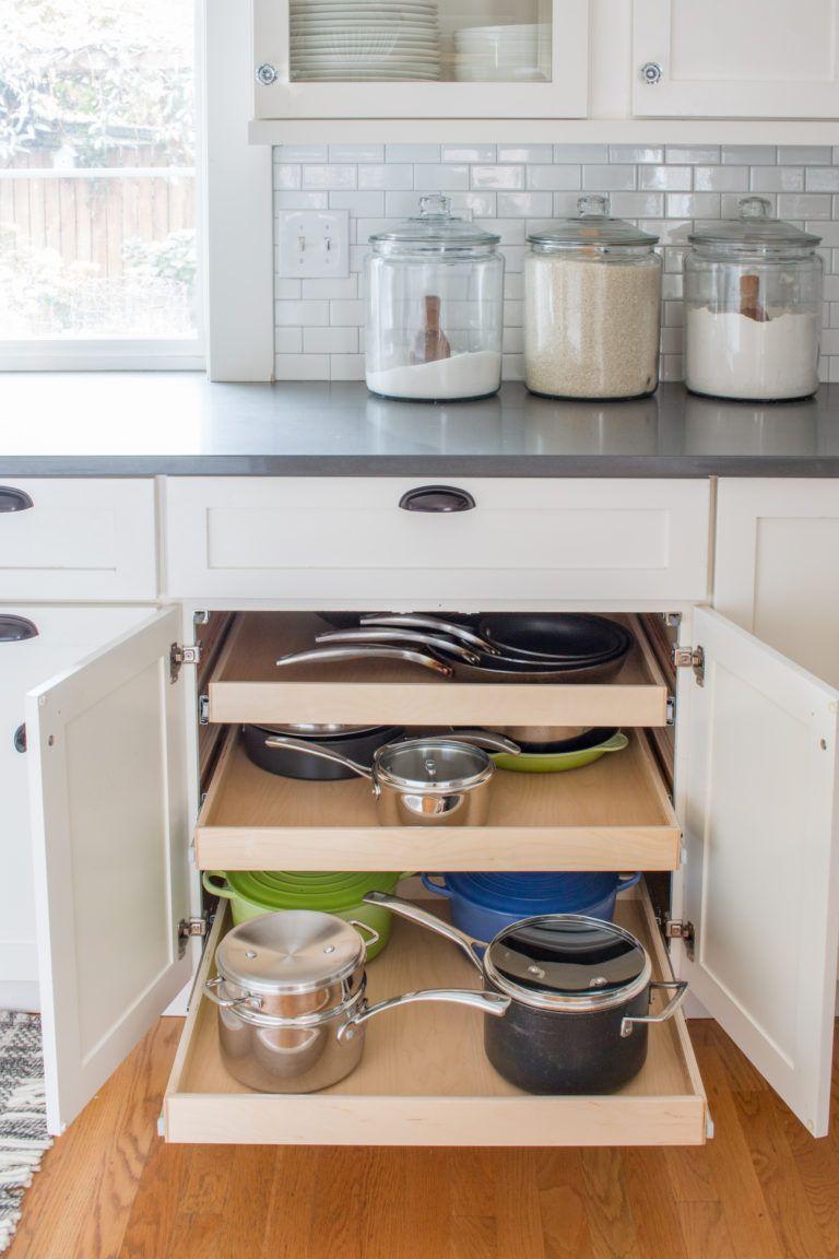 Kitchen Organization With Shelfgenie Kitchen Organization Kitchen New Kitchen