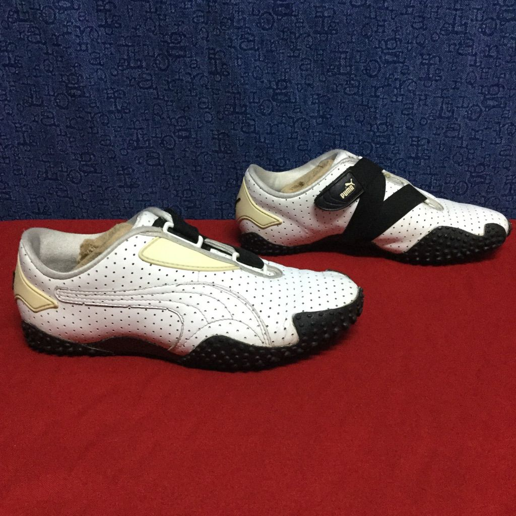 Puma Shoes | Vintage Puma Mostra White Leather . 37 6.5