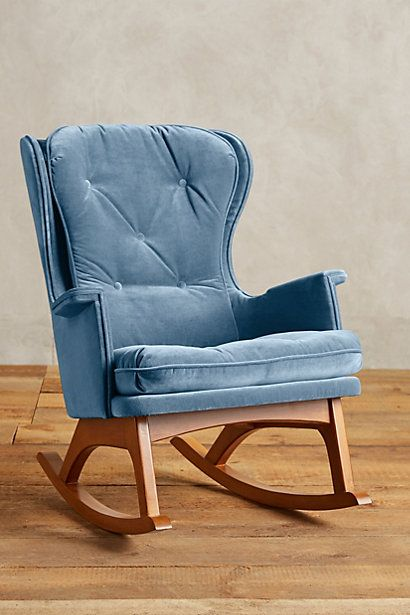 Fantastic Velvet Finn Rocker Anthropologie Ideas For The House Onthecornerstone Fun Painted Chair Ideas Images Onthecornerstoneorg
