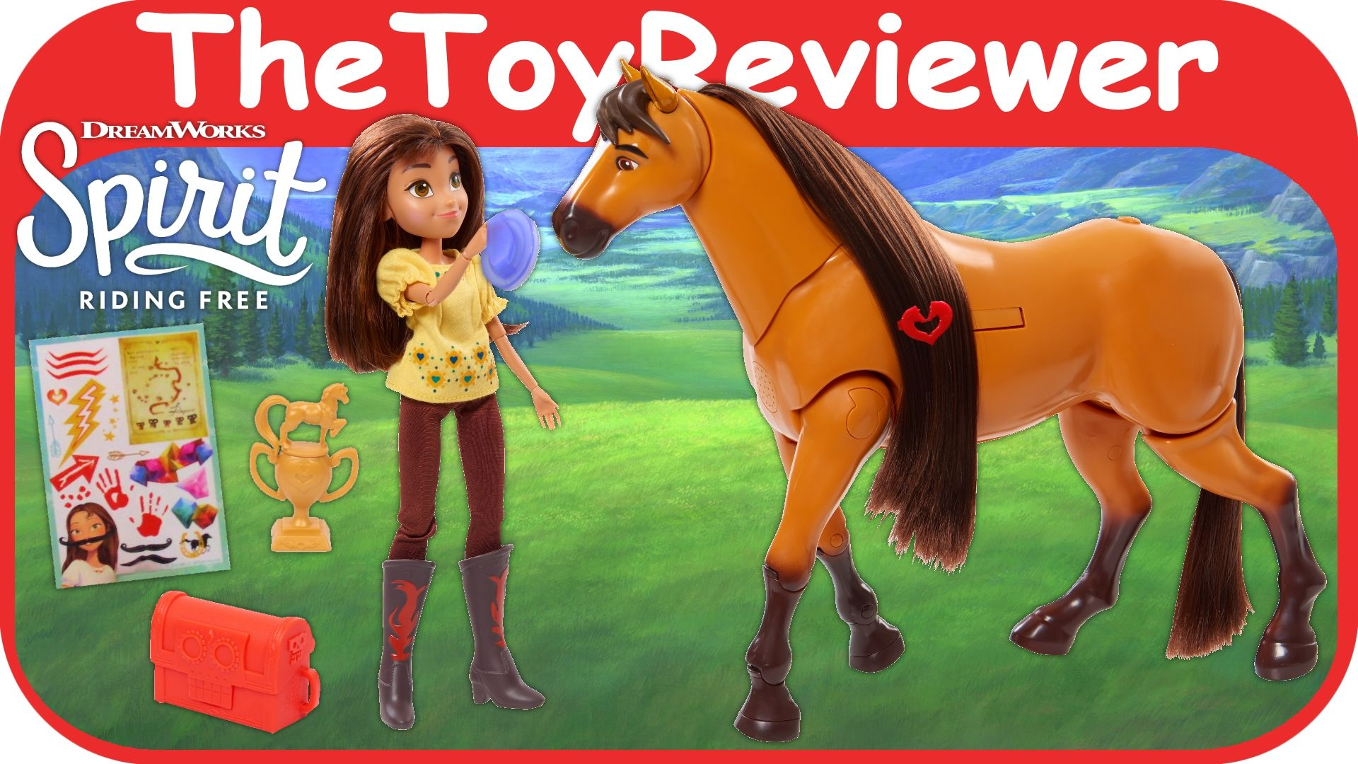 Check out the Spirit Riding Free Deluxe Walking Spirit and