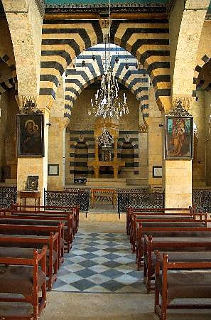 Ancient catholic church in Damascus, Syria | Places