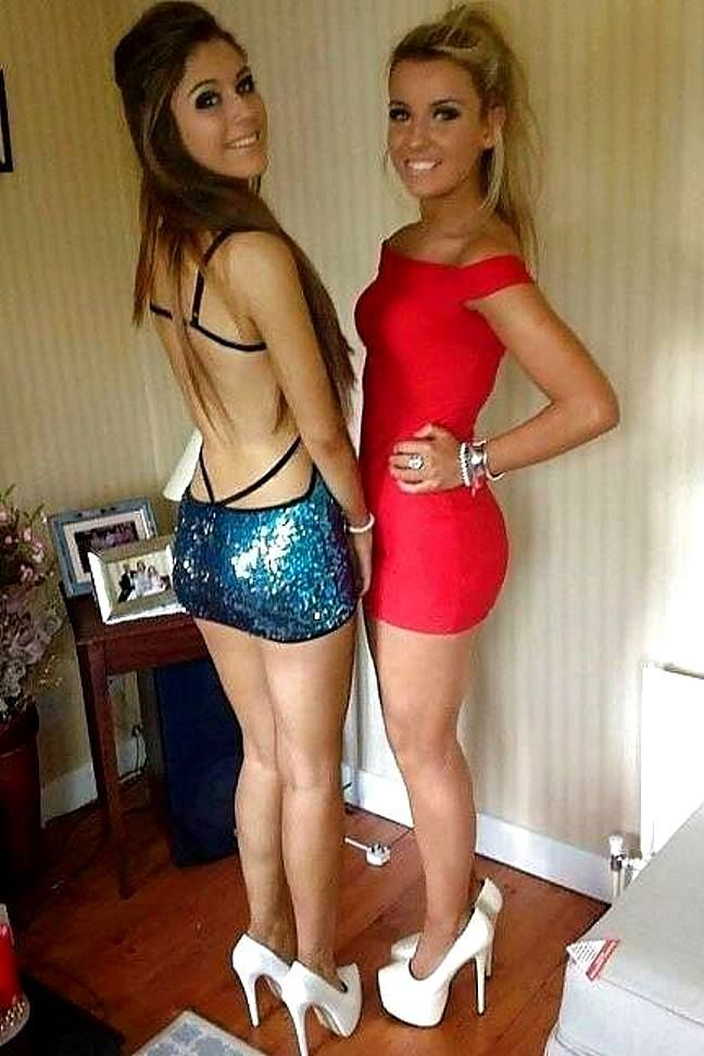 Teen girls night sexy pics