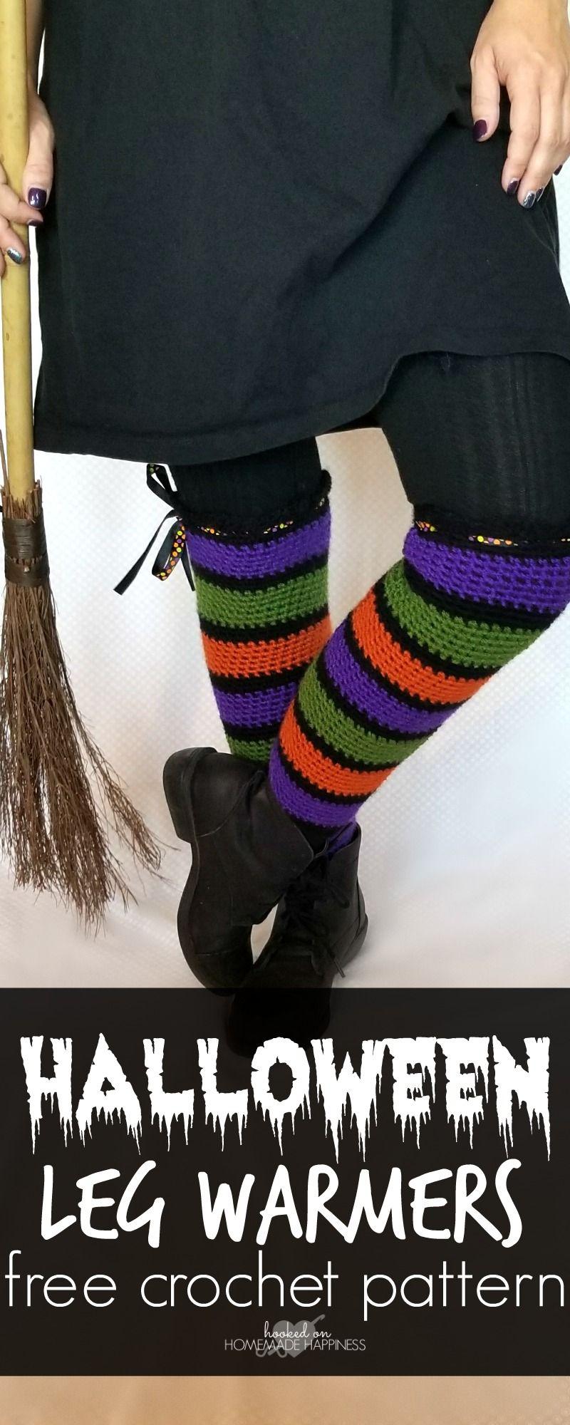 Halloween crochet leg warmers leg warmers halloween and legs halloween crochet leg warmers bankloansurffo Image collections