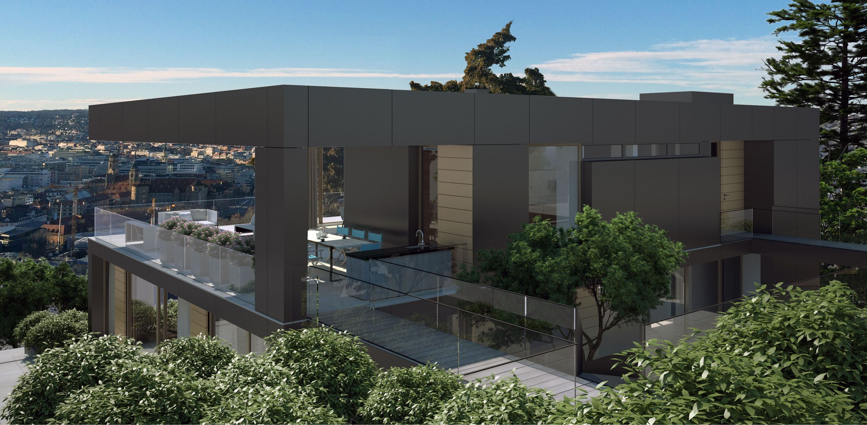 Projekt   Haus Am Hang Stuttgart | Architekten Bda: Fuchs, Wacker.