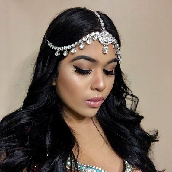 Grecian Wedding Hairstyles: Silver Prom Wedding GODDESS Head Piece Grecian Jewelry In