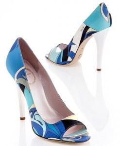 Zapatos Azules