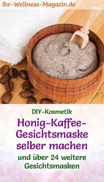 Photo of Make honey coffee face mask yourself – recipe and instructions