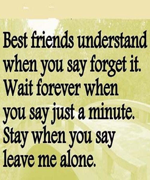 Leave Me Alone True Friendship Quote Friends Love Laughs Etc