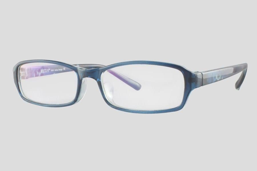 #Brillen van Reor. Dit is de Cambridge (SKU F10.243UBU). Prachtig blauw #montuur van TR-90 materiaal. Mooi design op de brillenpoten. Verkrijgbaar in meerdere kleuren.