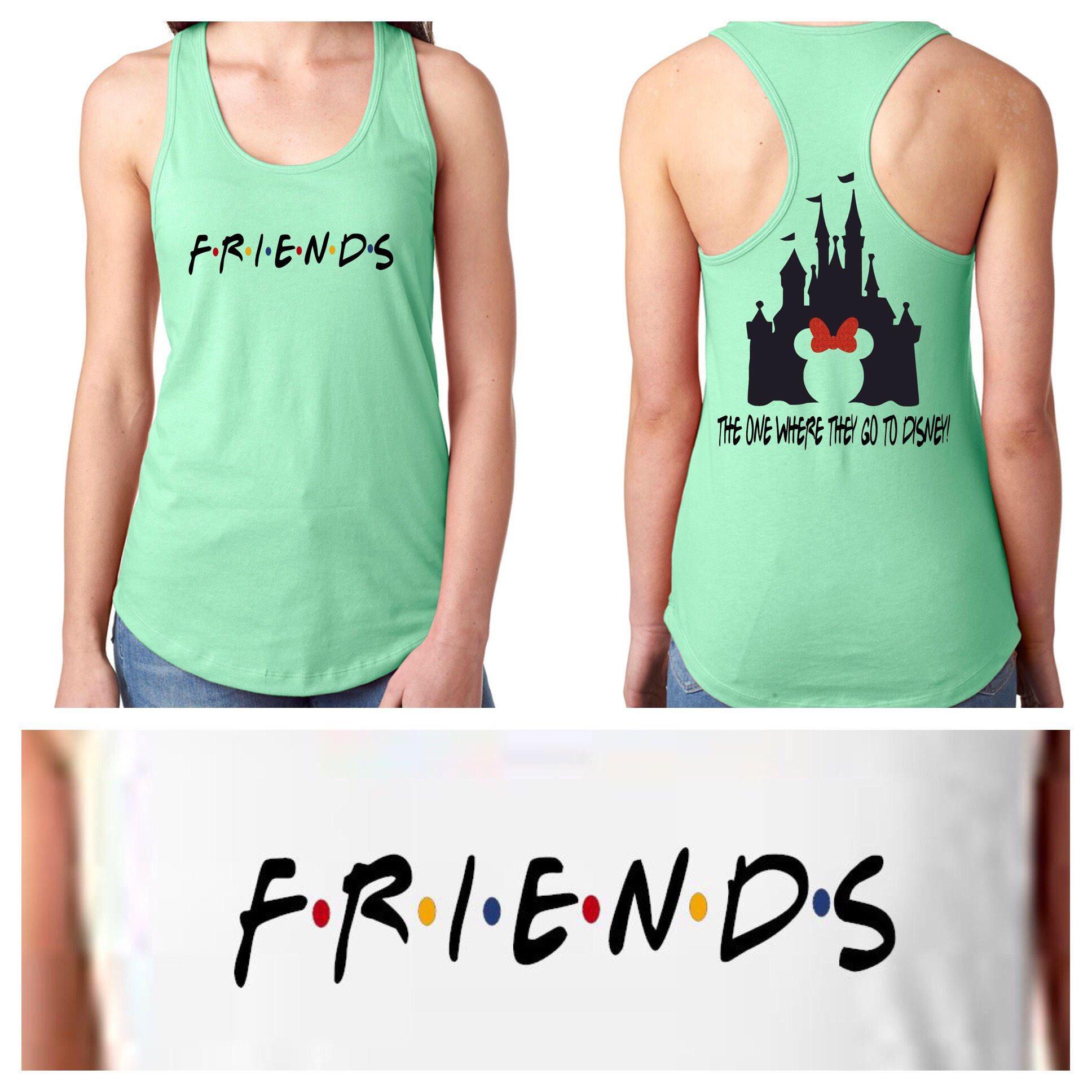 f2d8b872 Friends Disney Shirt, Friends Matching Shirts/ Friends Shirt /Tank/ Friends Disney  Tank