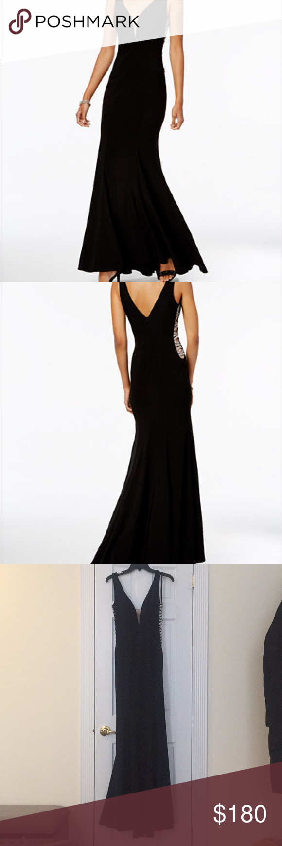 Black evening gown my posh picks pinterest xscape dresses