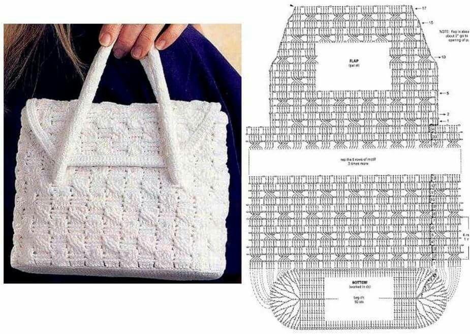 Bolsos De Ganchillo Patrones. Beautiful Paso A Paso Bolso Crochet ...