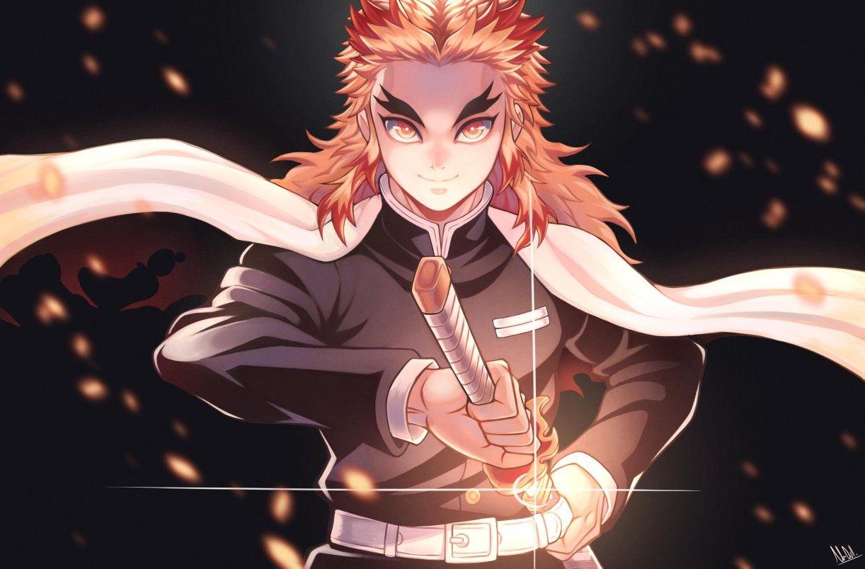 Kimetsu no yaiba dan juga peringkat hashira terkuat saat ini! Rengoku kyoujurou   Slayer, Slayer anime, Anime demon