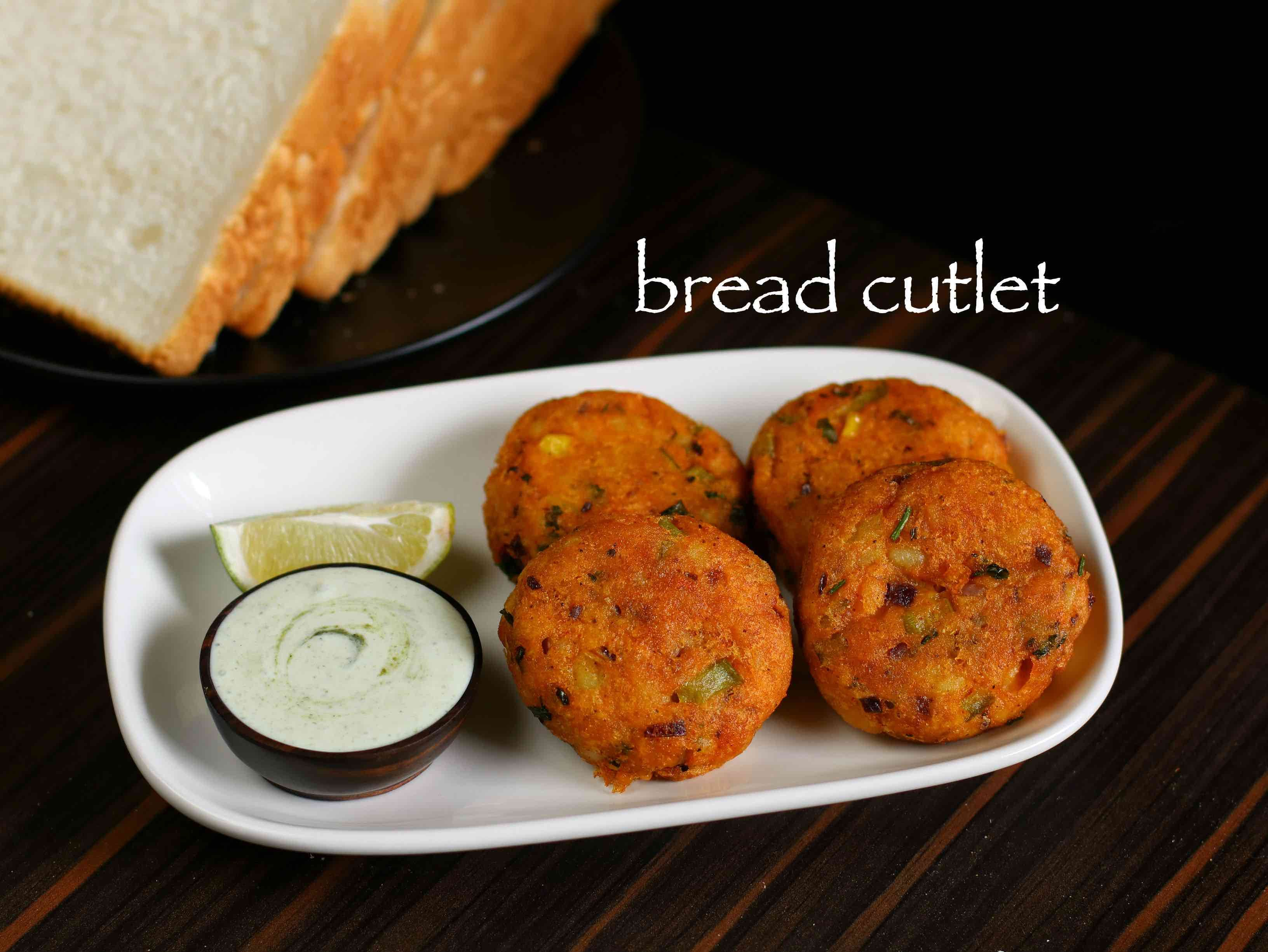 Crunchy vegetable bread cutlet recipe with step by step photovideo crunchy vegetable bread cutlet recipe with step by step photovideo simple deep fried forumfinder Images