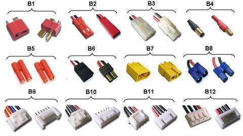 Rc 101 Battery Amp Balance Connector Type Aeriography