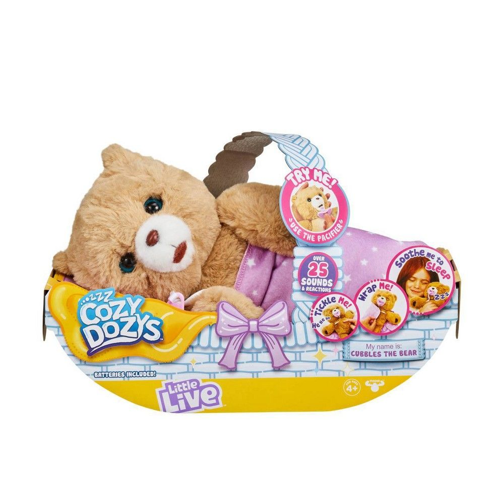 Little Live Cozy Dozys Cubbles The Bear Little Live Pets