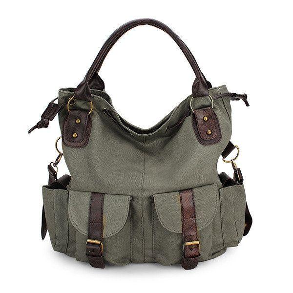 Women/'s Ladies Multi pocket Tote Hobo Shopper Large Crossbody Shoulder /& Handbag