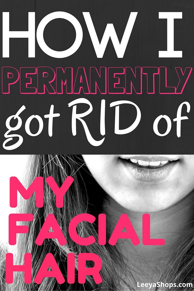 Hvordan man kan slippe af med ansigtshår permanent, siger denne pige-1141