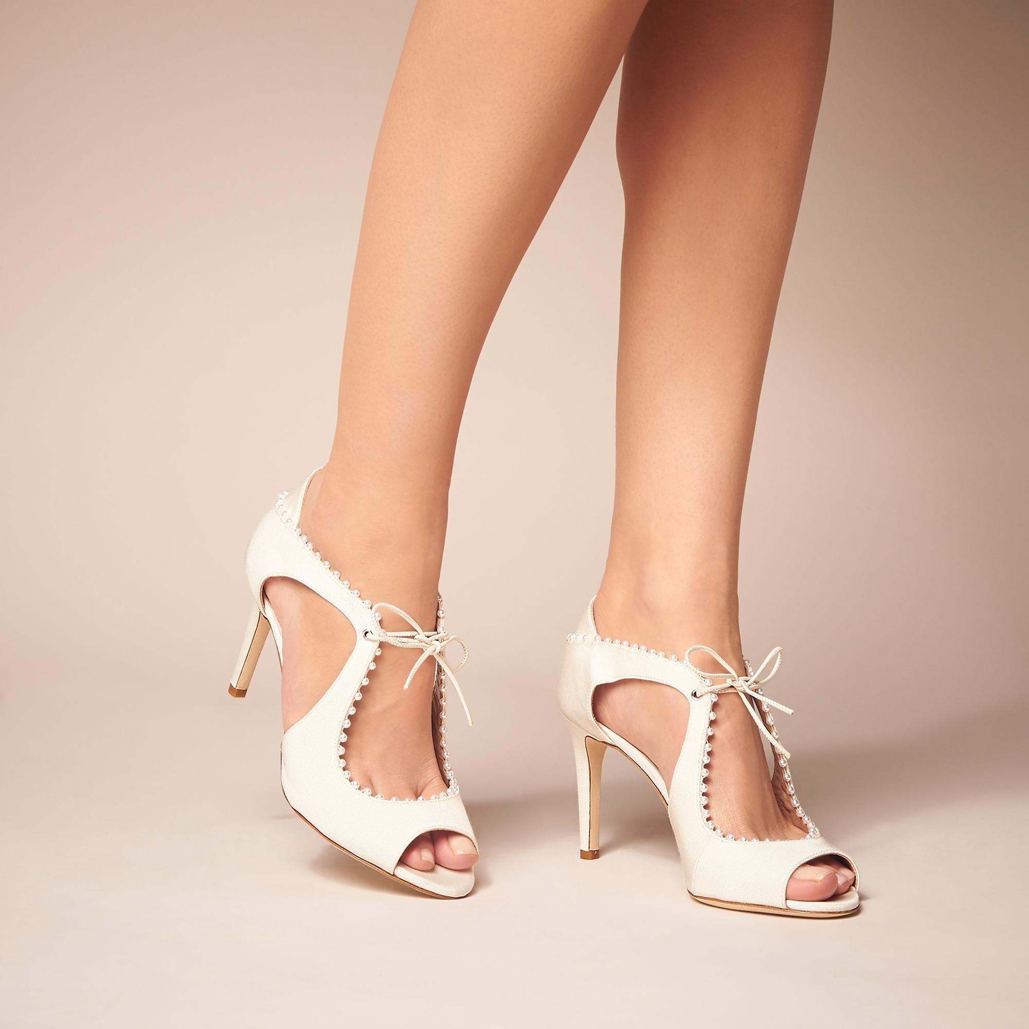 85522915976c Ellena Ivory Formal Sandals