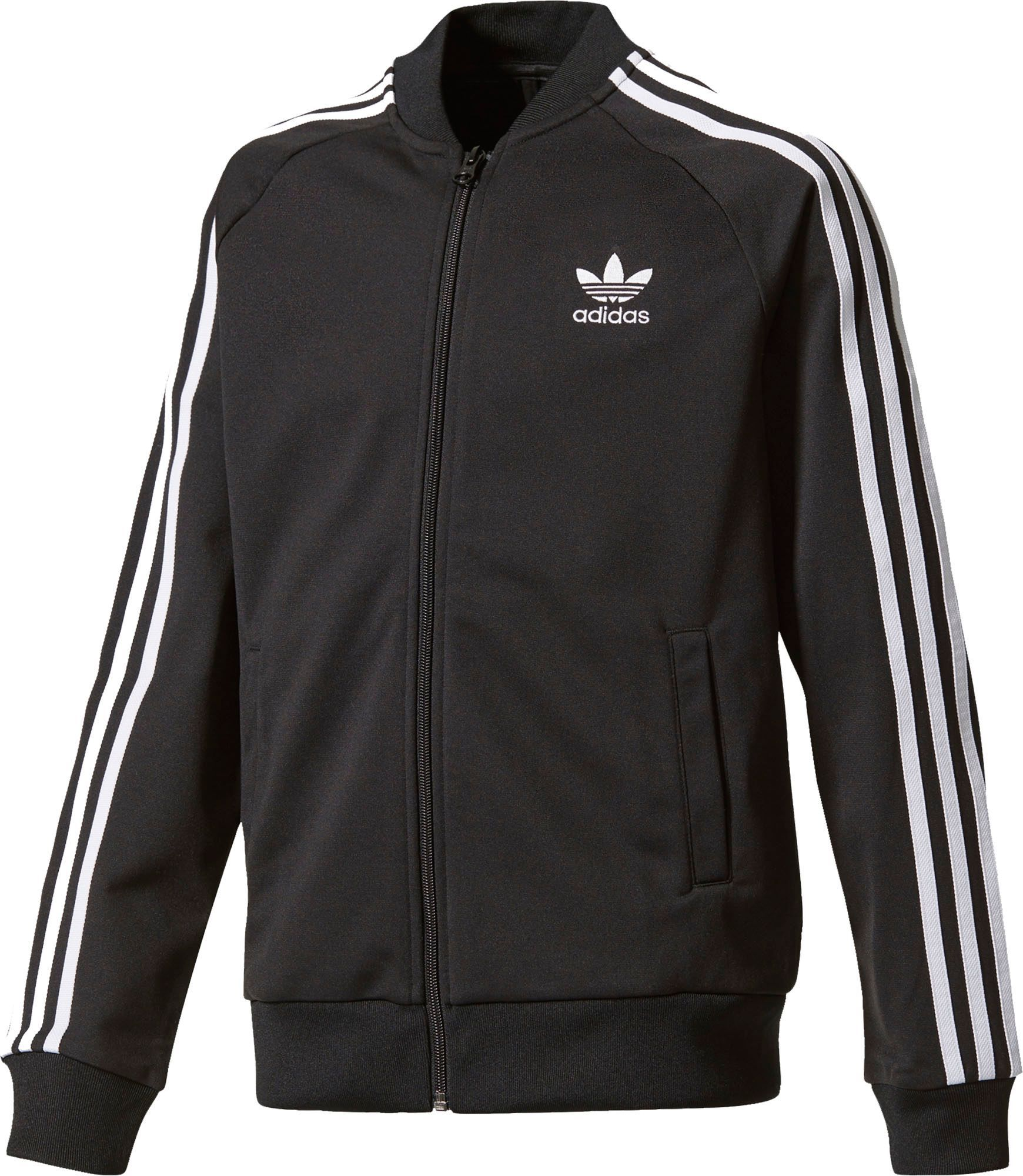 adidas Originals Boys' Superstar Track Jacket, Size: XL