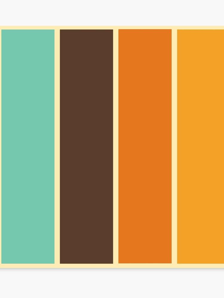 Vintage 1970s Color Palette Q House Pl Earth Colour Palette Retro Color Palette Vintage Colour Palette