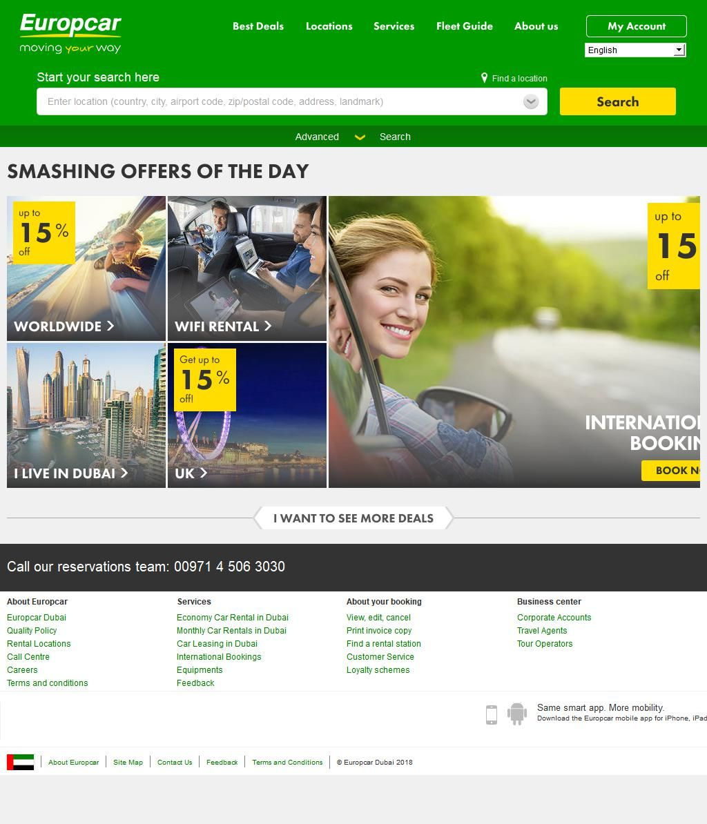 Europcar Dubai Rent A Car Llc Sharjah International Airport 20 Al