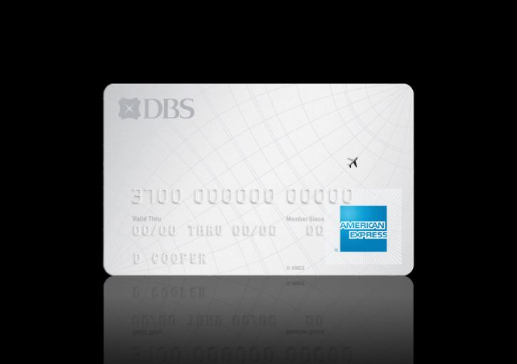 American Express Credit Card Design For Dbs Bank
