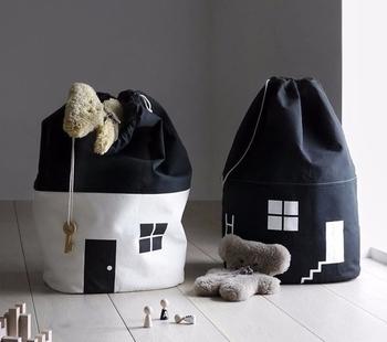 Wool Felt Toy Storage Bag