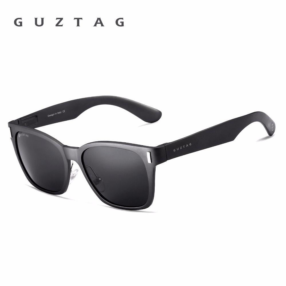 11dc48f6de Find More Sunglasses Information about GUZTAG Unisex Aluminum Square Men Women  Mirror Sunglasses Polarized UV400 Eyewear Sunglasses For Men oculos de sol  ...