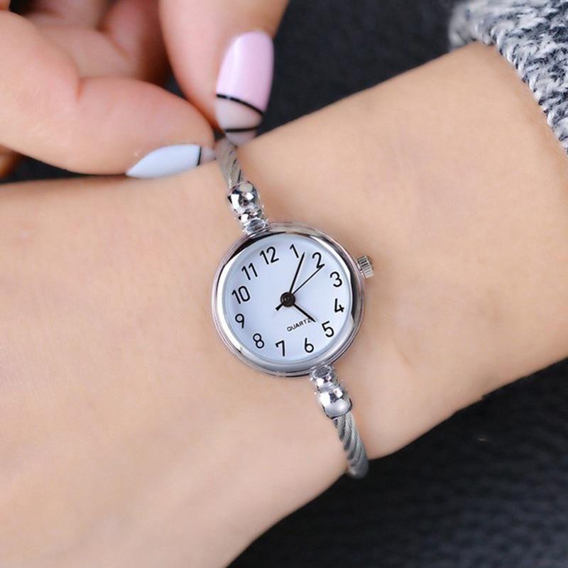4e21111a9a9 Ulzzang Retro Rose Gold Women Bracelet Watches Fashion Small Mini Ladies  Hour Quartz Wristwatch Elegant Female. Visit. January 2019