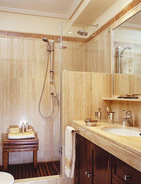 Ba os peque os con ducha buscar con google ba os - Cuartos de bano modernos con ducha ...