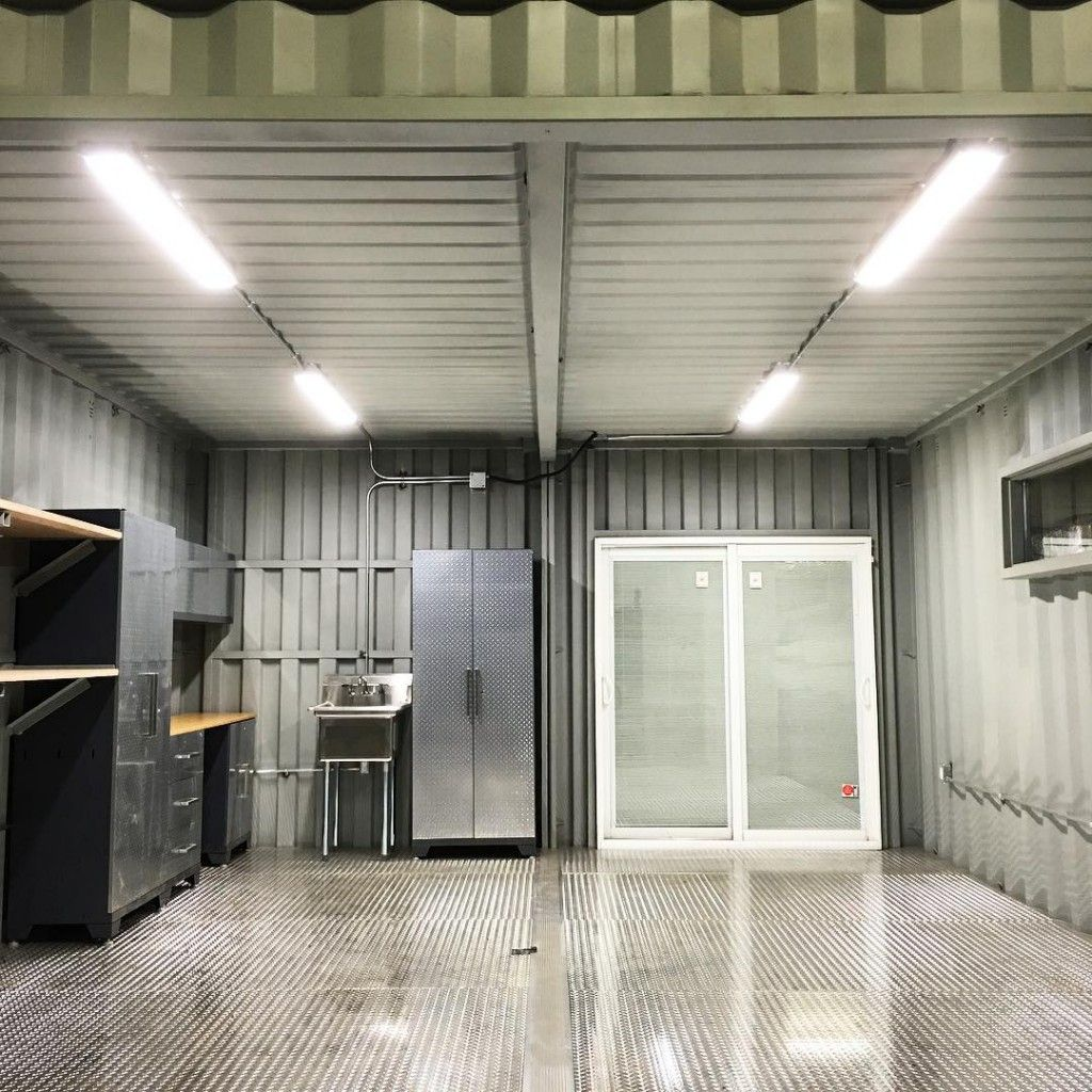 custom shipping container car garage - new, used, modified