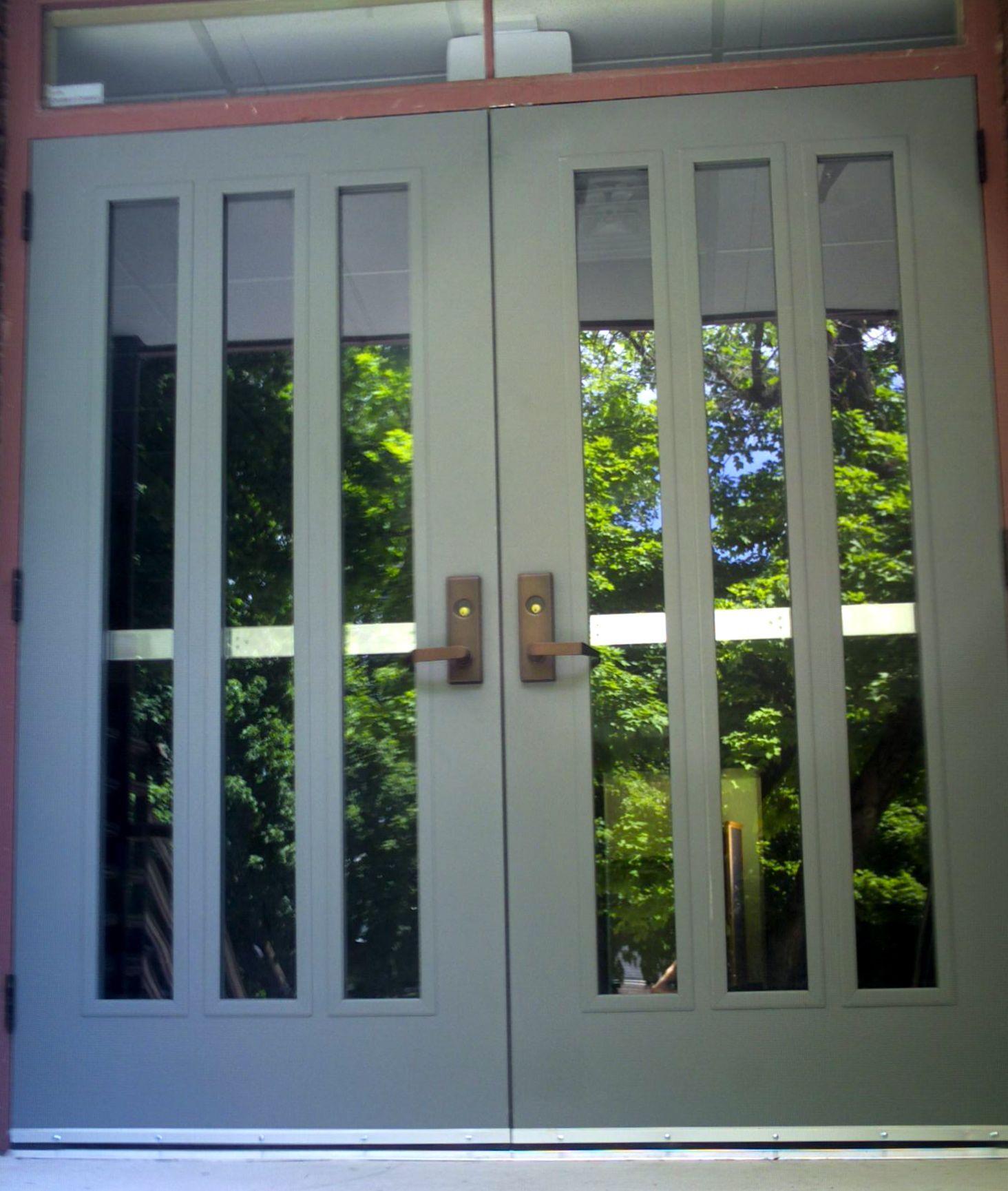 Commercial Double Doors Exterior Google Search Metal Doors