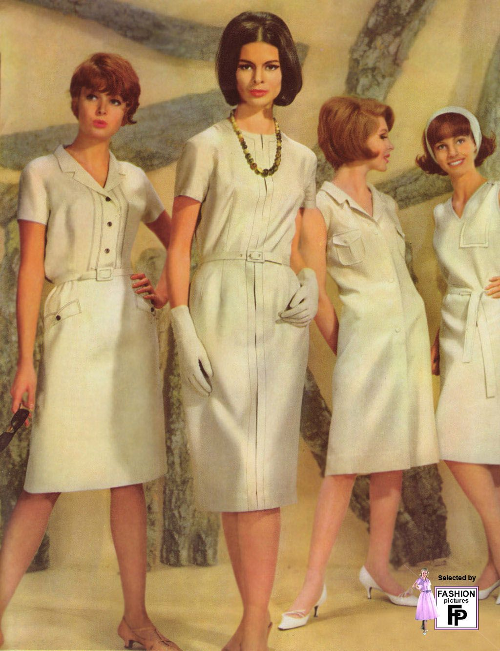 Working Women In Cream Mid 1960 39 S Fashion Trends Of The 1960 39 S Pinterest Working Woman