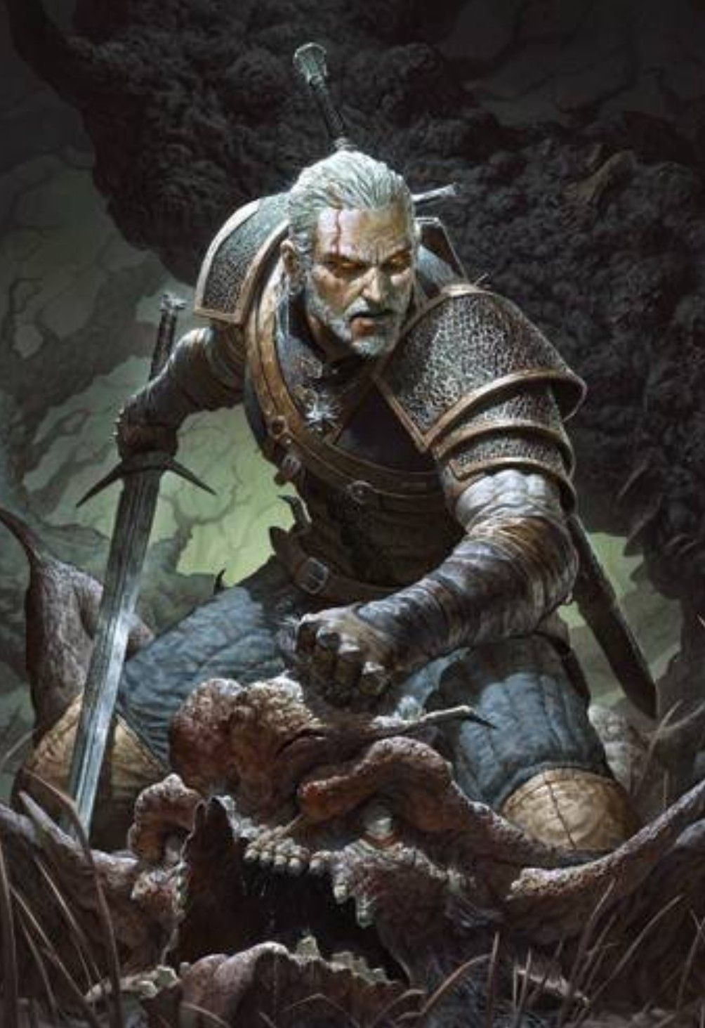 The Witcher Geralt Professional Gwent Card Neutral Witcher