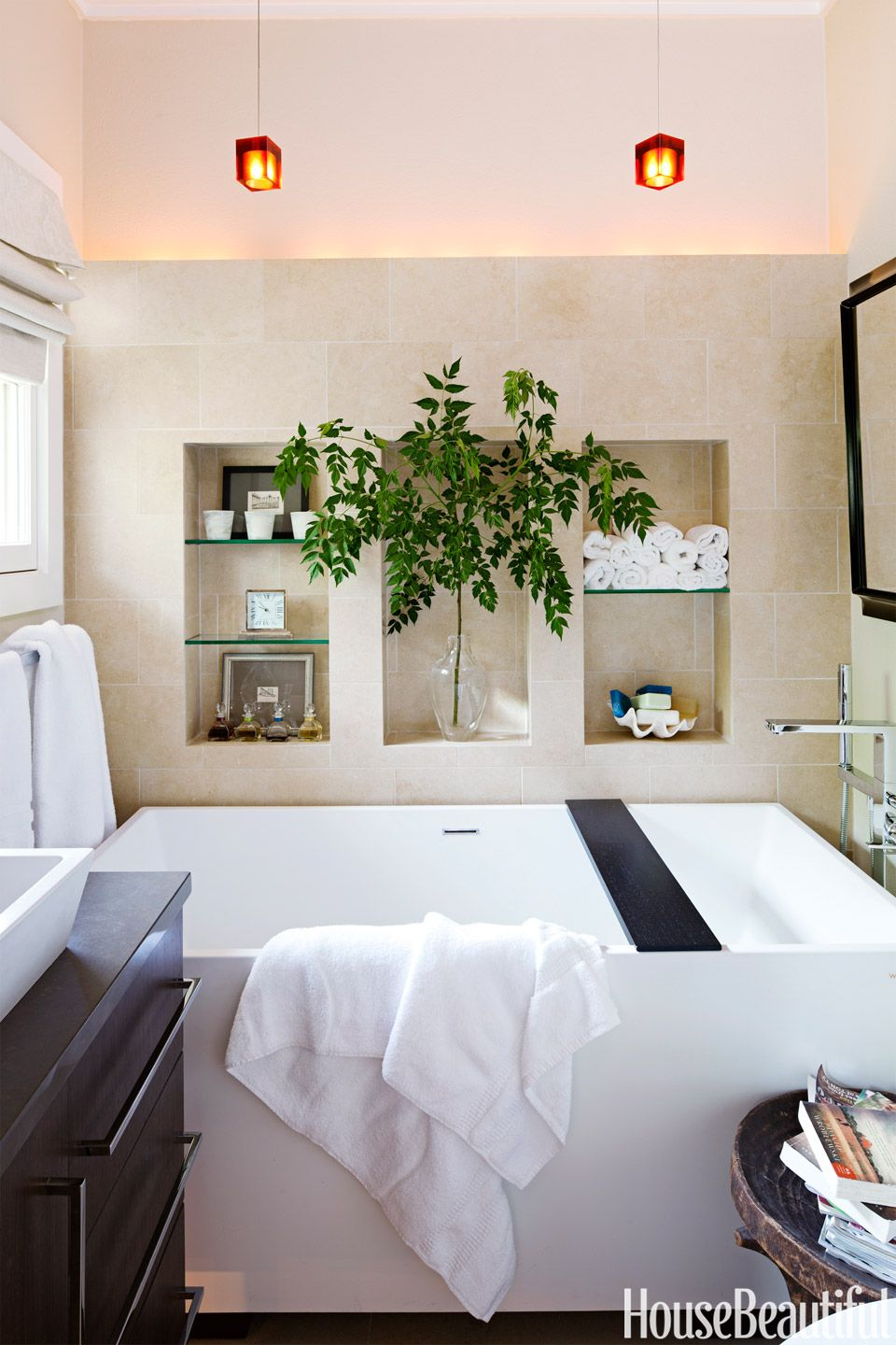 How to Create a Spa in 42 Square Feet | Small spa bathroom, Small ...