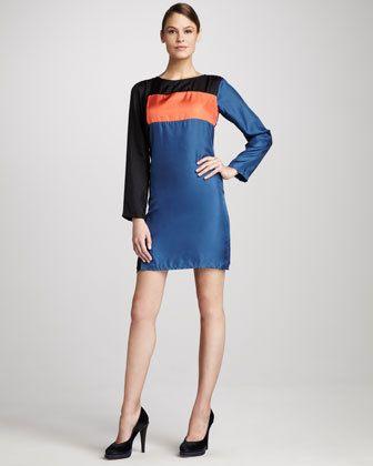 Women's KAS New York Colorblock Dress    $85.00