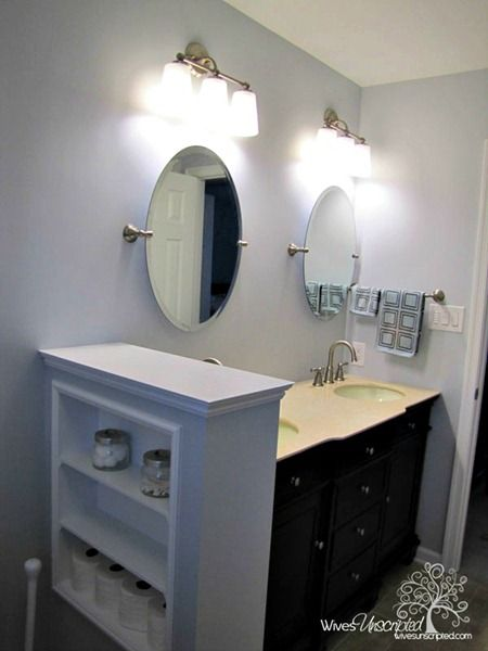 Modify a small peninsula shelf like this for a privacy screen in my