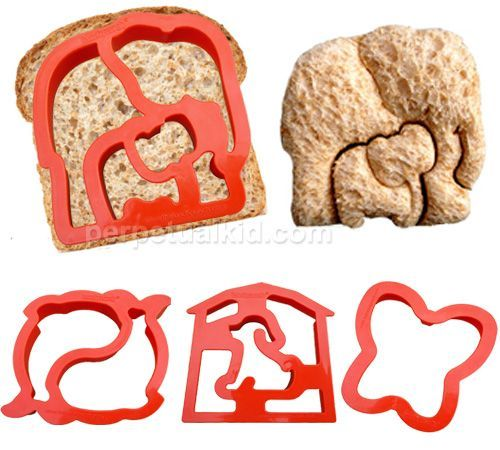 you mean there are elephant cookie cutters? that come with baby elephants?<3