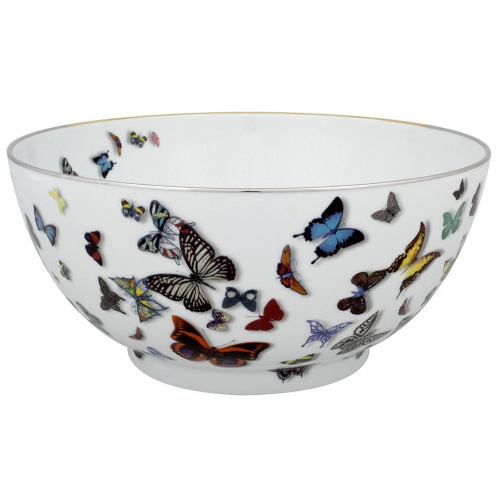 Christian Lacroix Butterfly Parade Serving Bowl