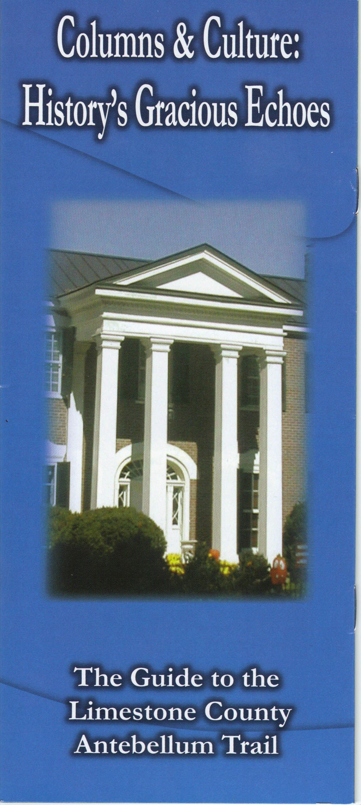 Perhaps one our most popular driving tours, Columns and Culture Antebellum Trail takes you through Athens, Belle Mina and Mooresville.   Be sure to pick up the companion cd at the Athens-Limestone Visitors Center for stories and directions.