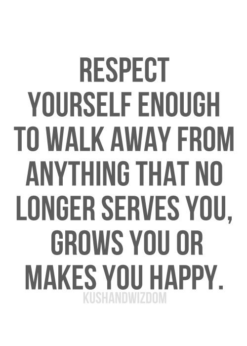 Yesss1 Self Respect Is About Staying True To Yourself Doing