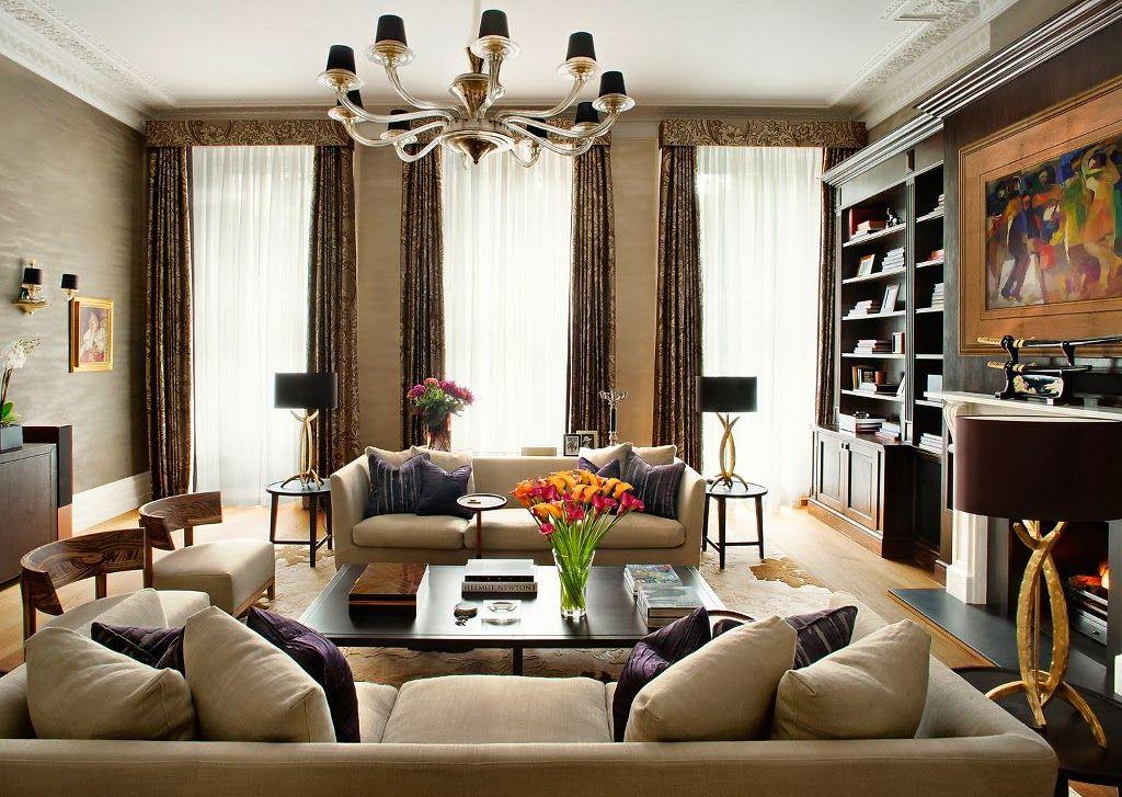 Jurnal de design interior - Amenajări interioare : Amenajare clasică în Marea Britanie
