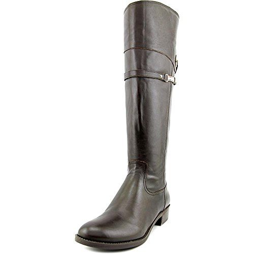 Tommy Hilfiger Delphy Wide Calf Women US 6 Brown Knee High Boot -- You can get additional details at the image link.
