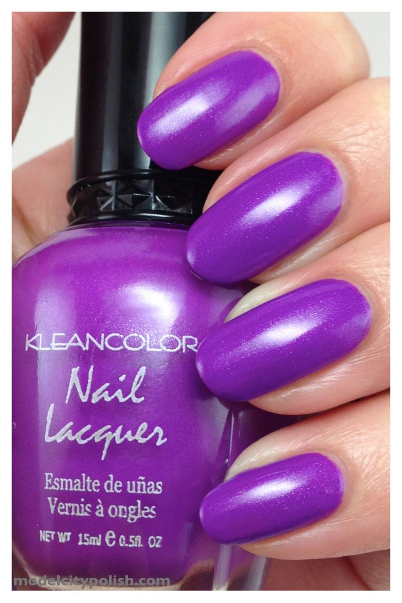 Kleancolors Neon Purple Nail Polish | Model City Blog | Pinterest ...