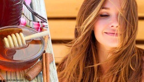 Capelli perfetti con maschere alla cannella — Vivere più sani