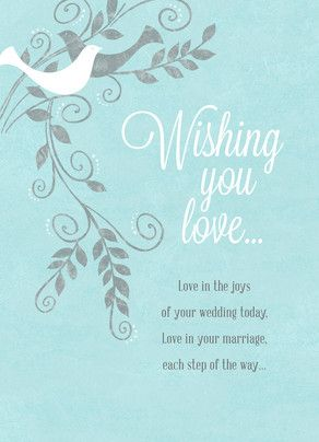 Cardstore Closing Wedding Congratulations Card Wedding Wishes Messages Wedding Wishes Quotes